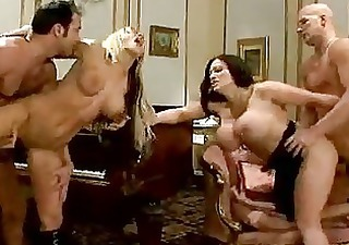 Hot mommas Carmel and Cathy gets awesomely banged