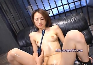 lustful babe receives face drenched in spunk cum